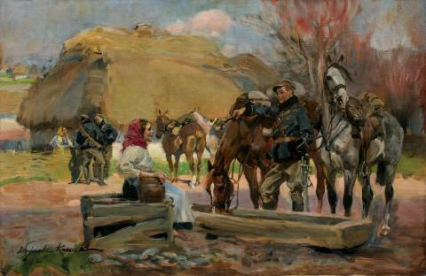 Józef Piłsudski-przejście przez Załęże – jak do tego doszło